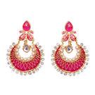 Pink Rose - Sensational earrings