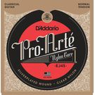 D'Addario Pro Arte EJ45 Classical Guitar Strings Normal Tension Clear Set