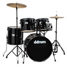 DDRUM D Series 5 PC. Set Complete Black