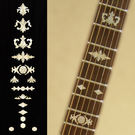 Aged Banjo Type (WS) Fret Markers Inlay Sticker