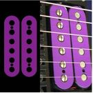 Colored Pickup Sticker for Humbucker /PURPLE Ibanez RG