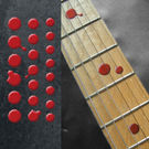Bloody Dots Fret Markers Inlay Sticker