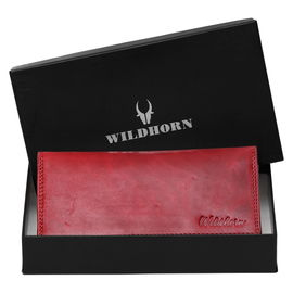 WildHorn RFID Protected Genuine Leather Wallet for Women Stylish| Purse for Women/Girls