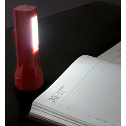 2 in 1 Magnetic Hexa Designer Flash-torch with Lamp