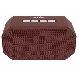 Xifo Wireless Bluetooth Stereo Speaker for Android Support Model Charge-6 Mini in Brown Colour