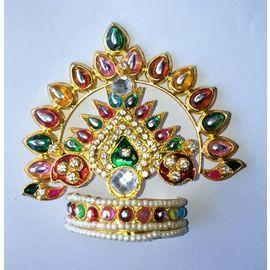 Beautiful Mukut For Thakurji Shringar / Mukut For Bal Gopal / Mukut For Thakurji