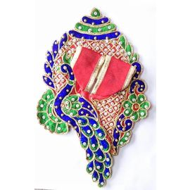 Designer Poshak For Thakurji / Peacock Poshak For Laddu Gopal