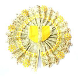 Heavy Golden Rajwadi Poshak / Laddu Gopal Beautiful Poshak ( 5 No)