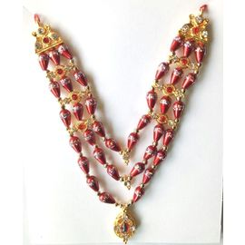 Neckless For God / Haar Shringar For Godess / Beautiful Neckpiece For Matarani