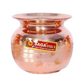 Saga Pure Copper Pooja Lota / Designer Lota