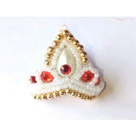 Moti Work Mukut For Laddu Gopal / Mukut For Thakurji / Designer Mukut