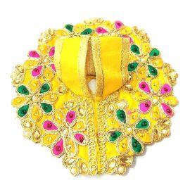 Elegent Kundan Work Poshak / Heavy Handmade Poshak For Bal Gopal ( 2 No)
