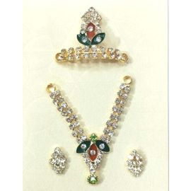 Elegent Set Of Bal Gopal Shringar / Jewellery Set Of Laddu Gopal