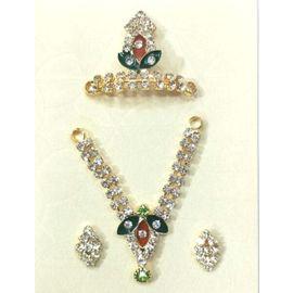 Elegent Set Of Bal Gopal Shringar / Jewellery Set Of Laddu Gopal