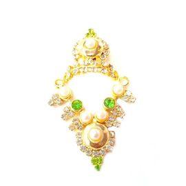 Designer Heavy Work Mukut Mala Set For Laddu Gopal /Elegent Moti Work Shringar Set