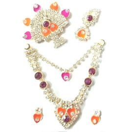 Shrinath Ji Shringar Set /Laddu Gopal Mala Set/Jewellery for Bal Gopal