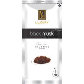 Zed Black Luxury Black Musk Premium Incense Sticks Zipper - 2 Pack