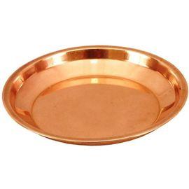 Copper Pooja Thali / Pooja Plate / Pure Copper Pooja Plate