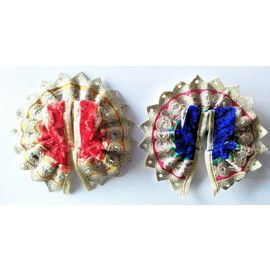 Beautiful Poshak For Bal Gopal Shringar / Designer Poshak For Thakurji - 2 Pcs