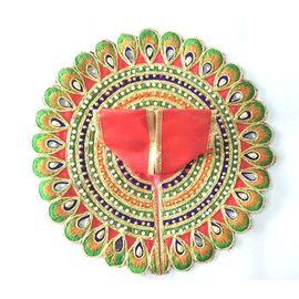 Beautiful Moti Work Poshak For Laddu Gopal / Designer Poshak For Thakurji