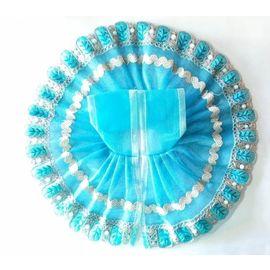 Classic Net With Beautiful Lace Poshak For Laddu Gopal / Classic Poshak