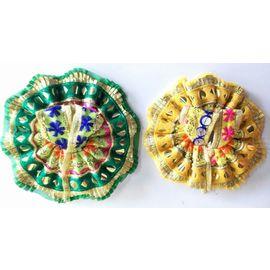 Classic Woolen Poshak For Laddu Gopal Shringar / Beautiful Poshak For Bal Gopal (1 No) - 2 Pcs