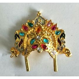 Heavy Look Mukut For Bal Gopal Shringar / Mukut For Laddu Gopal
