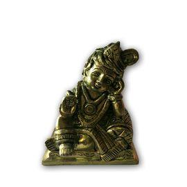 Brass Krishna Statue / Lord Krishna Statue For Your Home Decoration