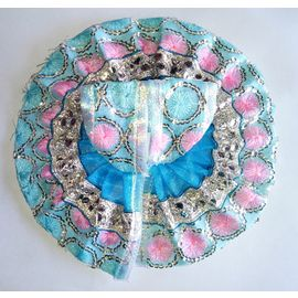 Beautiful Summer Poshak Of Laddu Gopal Embroidered Work ( 2 No)