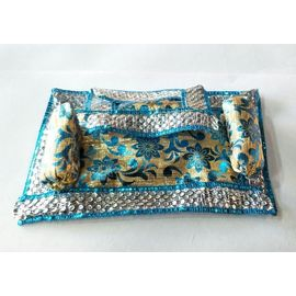 Lace Work Aasan For Laddu Gopal / Aasan For Thakurji