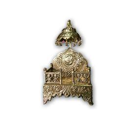 Brass Designer Chatra Singhasan / Golden Singhasan / God Idol Singhasan