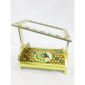 Meenakari Net Bed / Bed For God / Designer Bed