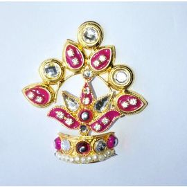 Beautiful Designer Mukut For Ganpati / Mukut For Bal Gopal / Mukut For Laddu Gopal