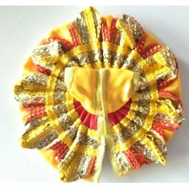 Elegent Poshak For Laddu Gopal / Designer Poshak For Bal Gopal (2 No)