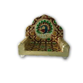 Mor Design Meenakari Singhasan For God / Designer Singhasan