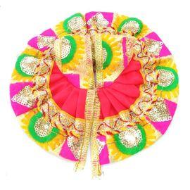 Elegent Heavy Poshak For Laddu Gopal / Bal Gopal Shringar (2 No)