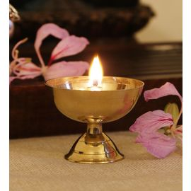 Brass Pooja Diya / Brass Akhand Diya / Decorative Diya