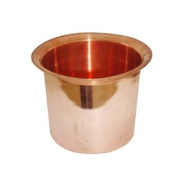 Set Of Two Pure Copper Panchpatra For Pooja