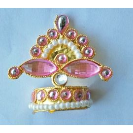 Bal Gopal Shringar Mukut / Designer Mukut For Bal Gopal