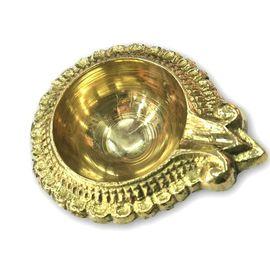 Brass Kuber Diya / Kangura Designer Deepak / Decorative Diwali Diya