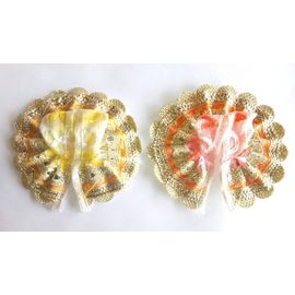 Laddu Gopal Summer Net Poshak Small Size ( 0 No) - 2 Pcs
