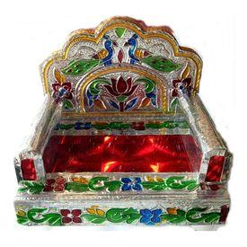 Designer Meenakari Singhasan Pooja Asan For God