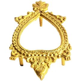 Brass Shankh Stand / Matasya Pooja Shankh Stand