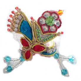 Laddo Gopal Zari Work Mukut Stylish Mukut