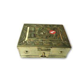 Brass Pooja Box / Brass Pooja Peti