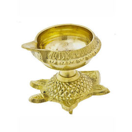 Brass Kuber Diya / Designer Brass Diya For Pooja / Table Diya