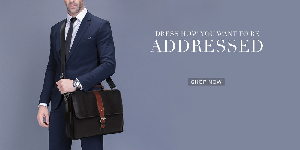 EXCLUSIVE LEATHER BAGS FOR MEN