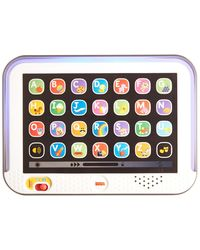 Fisher Price CHC74 Laugh and Learn Smart Stages Tablet, Multi Color