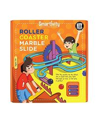 Smartivity Roller Coaster Marble Slide S. T. E. M. Educational D. I. Y. Toy