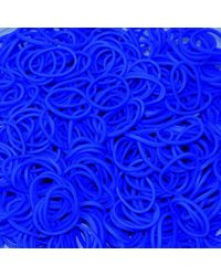 Official Rainbow Loom-Navy Blue Colors- 600 pcs count Bands